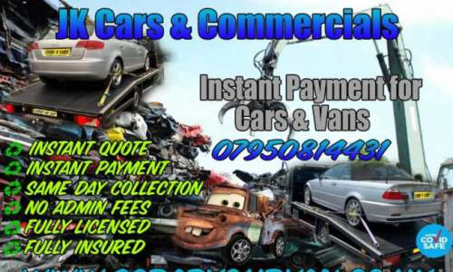 car van scrappage Hampshire
